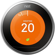 Nest Generation Smart Thermostat with Learning Auto-Schedule Program and Smart Phone App Energy Use, Save Energy, Home Thermostat, Wifi Connect, Look Here, Getting To Know You, Diy Tools, Smart Home, Home