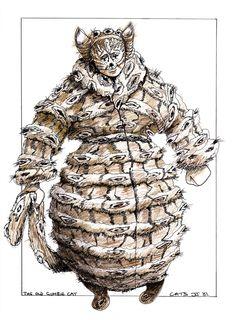 Gumbie Cat - original costume design, John Napier 1981