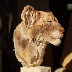 Remarkably Lifelike Wooden Animals Sculpted Using a Chainsaw - My Modern Met