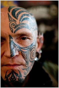 Face Tattoo Designs: The Unique Face Tattoo Designs And Meaning For Man ~ tattooeve.com Tattoo Design Inspiration