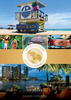 50th Anniversary - Jubilee Conference  Akan diadakan di Miami, Florida tahun 2017. Yuk ajak keluarga berlibur ke Florida!  Join Oriflame NOW! :)