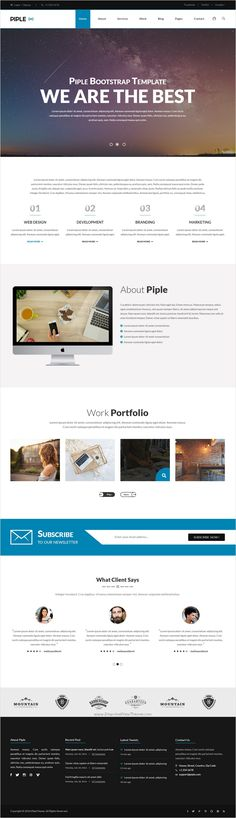 Piple is a clean and modern design premium #PSD template for multipurpose #office business and corporate #website with 10 stunning homepage layouts download now➩ https://themeforest.net/item/piplewifi-business-and-multipurpose-psd-template/17421449?ref=Datasata