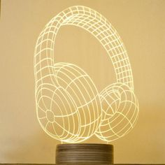 A Retro Table lamp Or DJ Headphones. These Are Cool Gifts for a DJ