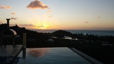another glorious spring sunset on Antigua's west coast