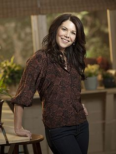 My favorite character that I get soooooo frustrated with! (I loved her in GILMORE GIRLS! She's about the same person in both shows)