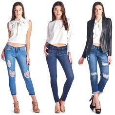 Parkers Jeans  #parkersjeans #jeans #frayedhem #distressed #ripped #madeinlosangeles #boyfriendjeans #skinny