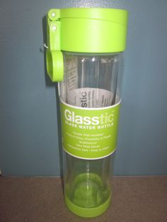 sip safer with glasstic water bottles :: review + giveaway + coupon