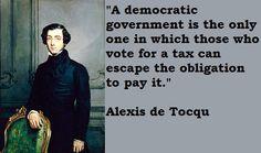 alex de tocqueville quotes - Google Search