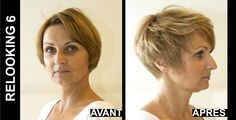 Christine #Margossian made 25 women want to enjoy the summer thanks to a #makeover. Discover with #pictures this hard task accomplished by L'Oréal Professional. #relooking http://www.livecoiffure.com/en/wp_gallery/relooking-6