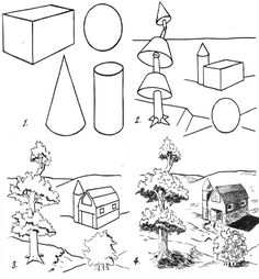 shapes drawing basic draw easy learn forms way simple form cylinder drawinghowtodraw step cone sphere study illustrated steps cube tutorials