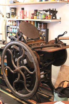 printing press :)