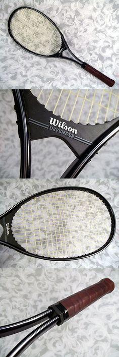 $39.99 or best offer Vintage WILSON DEFENDER Aluminum Tennis Racket