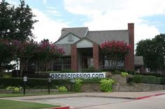 Leasing office at Pace's Crossing Apartments in Denton, TX Leasing Office, Apartments, The Neighbourhood, Photo And Video, Outdoor Decor, The Neighborhood, Flats