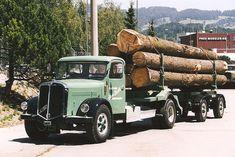Semi Trucks, Old Trucks, Transporter, Trailers, Old Things, Nice, Vehicles, Bern, Switzerland