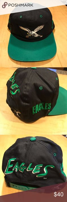 fc0792cd3e3 Vintage Philadelphia Eagles Hat Has a few marks on it but you know what. So