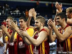 """#macedonia #makedonija #skopje #eurobasket #basketball #hero #motivation #inspiration #europe Macedonian National Basketball Team - 2011 Eurobasket <3 Keep it going boys! You've lifted not only a nation, but have given a true meaning to the word """"underdog"""". You're true heros that show that hard work, dedication and doing something with all your heart pays off! No matter what happens today in the biggest David. vs. Goliath match up of the tournament as you take on Spain, YOU WILL be heros to…"""