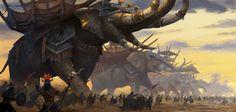 Fantasy Dwarf, Fantasy Battle, New Fantasy, Pet Monsters, Alien Races, Fantasy Illustration, Lotr, Beast, Creatures