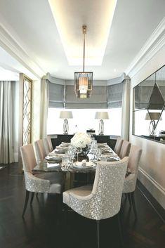 Boscolo Interior Design   Mayfair Apartment   Dining Room table chairs m  #apartment #boscolo #design #dining #interior #mayfair #table