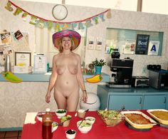 It's fun to vacation at Clothing optional and Nudist Resorts: Free Mexican Fiesta Luncheon Only At Terra Cotta Inn, Palm Springs, CA Saturday August 16th