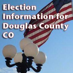 election information for douglas county colorado flag parker lights