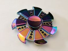 Rainbow Turbine Spinner