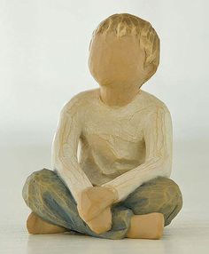 """""""Reagan"""" - Would love a Willow Tree figurine to represent each of the children. Mother's Day idea?"""