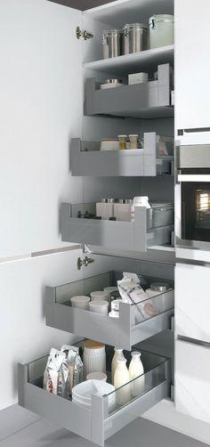 New kitchen pantry ideas cabinets Ideas Kitchen Room Design, Modern Kitchen Design, Home Decor Kitchen, Interior Design Kitchen, New Kitchen, Home Kitchens, Kitchen Pantry, Pantry Cabinets, Modern Kitchen Cabinets