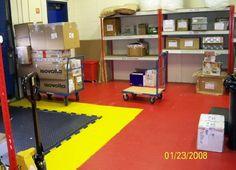 PVC Werkstattboden Typ Industrie ECO 7/500 in drei Farben