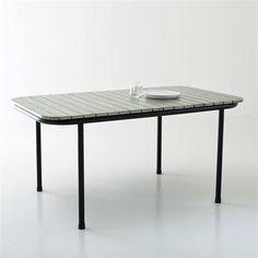Table de jardin acacia, 2 modèles, Darcé La Redoute Interieurs