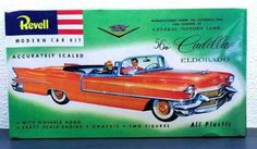 Revell 1956 Cadillac El Dorado Convertible 1/32 Plastic Model Kit 0200 SEALED #Revell