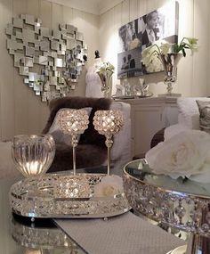 Glam Living Room, Home And Living, Living Room Decor, Bedroom Decor, Decoration Originale, Deco Design, Luxury Living, Living Room Designs, House Design