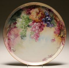 Limoges Tressemann & Vogt hand painted tray.