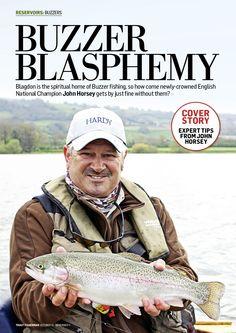Buzzer Blasphemy with John Horsey Fishing Magazines, Buzzer, Champion, Sports, Hs Sports, Sport