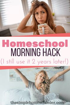 Interested in a homeschool hack that will help streamline your morning? You need to read this! Check out this simple tip has made my mornings oh so much easier. It\'s a tip I recommend to all my homeschool friends - beginners or seasoned. Check it out! #homeschoolmom #homeschoolhacks #homeschooltips #homeschoolhelp #homeschoolmorning