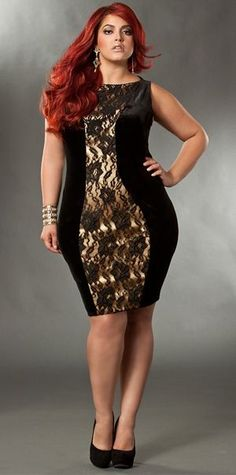 Finding sexy plus size dresses can be quite challenging. Here are some images of sexy dresses for plus size ladies you can get ideas from. Plus Size Girls, Moda Plus Size, Plus Size Women, Plus Zise, Mode Plus, Curvy Girl Fashion, Plus Size Fashion, Womens Fashion, Fashion Black