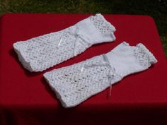 Hand Knitted Fingerless gloves    Lacy by WelshWitchKnitting, £20.00