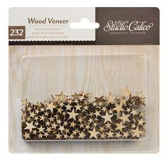 Classic Calico Vol. 2 Tiny Stars Wood Veneer by Studio Calico - #StudioCalicoPinToWin