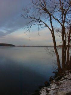 Almost winter, Lahti, Vesijärvi, Finland