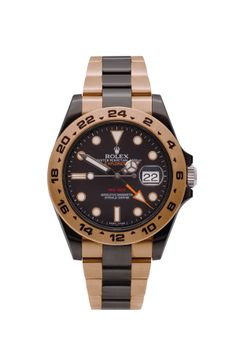 Rolex Explorer 2 mit DURAMANTAN-Beschichtung BLACK and BROWN