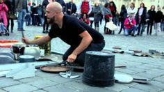 """Dario Rossi """"TECHNO RAVE PARTY mode: ON"""" live @ Piazza del Popolo, Rome"""