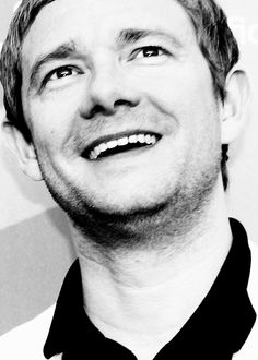 "freemanweb: "" Wonderful shot of Martin Freeman """
