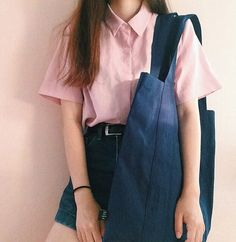 Find images and videos about girl, fashion and style on We Heart It - the app to get lost in what you love. Korea Fashion, Asian Fashion, Girl Fashion, Fashion Looks, Fashion Outfits, Womens Fashion, Fashion Trends, Fashion Clothes, Estilo Jeans