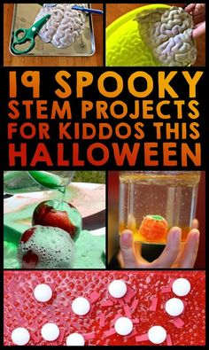 19 Spooky STEM Projects For Kiddos This Halloween