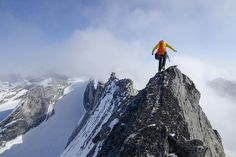 Precipitous drops and wild exposure, you'll need to sit down just to look at these epic ridgelines.