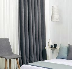 Huge Range Of Quality Blockout Curtains Available Direct From Canberra's Only Local Factory. Blinds, Curtains, Home Decor, Jalousies, Blind, Interior Design, Draping, Home Interior Design, Window Scarf