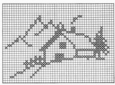 Thrilling Designing Your Own Cross Stitch Embroidery Patterns Ideas. Exhilarating Designing Your Own Cross Stitch Embroidery Patterns Ideas. Cross Stitch House, Xmas Cross Stitch, Cross Stitch Heart, Cross Stitching, Cross Stitch Embroidery, Embroidery Patterns, Filet Crochet Charts, Knitting Charts, Cross Stitch Designs