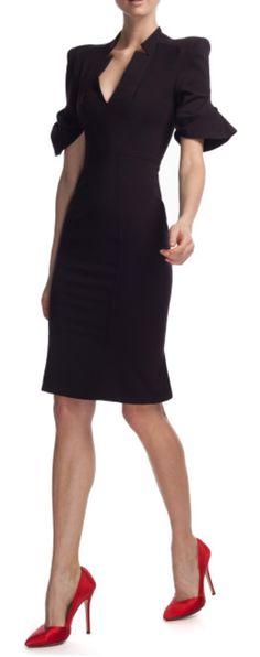 ZAC POSEN DRESS | http://bestvietnamstylesphotos.blogspot.com