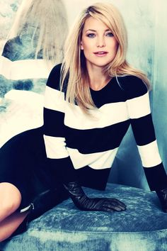 Kate Hudson Ann Taylor 2013 Season Photoshoot --- The look. The outfit. Carrie Bradshaw, Cute Fashion, Look Fashion, Pretty People, Beautiful People, Mode Chic, Glamour, My Hairstyle, Girl Crushes