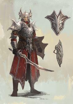 Dragon Guard, Shen Fei on ArtStation at https://www.artstation.com/artwork/kQdvK