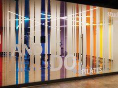 Window Stickers, Window Decals, Office Interior Design, Office Interiors, Sign Design, Wall Design, Glass Film Design, Clothing Store Interior, Public Space Design